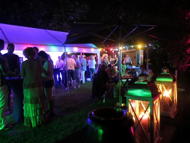 Party Verlichting Tuin : Tuinfeest organiseren